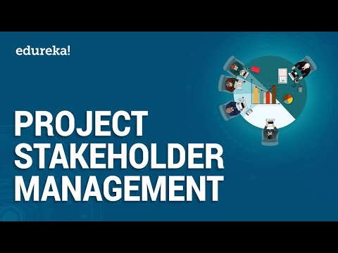 Project Stakeholder Management | PMP Certification | Edureka