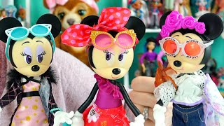 Disney Minnie Mouse Fashion Dolls Are Articulated!