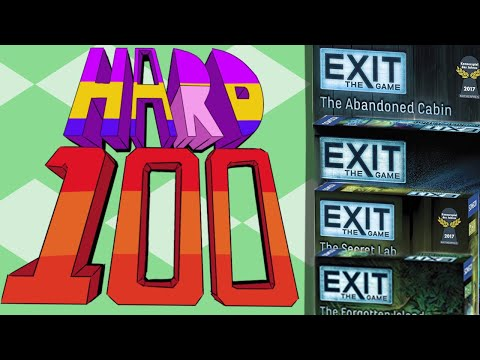 The Hard 100: Exit the game (non-spoilers/spoilers)