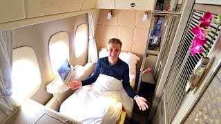 Emirates NEW 777 FIRST CLASS Private Suite Review