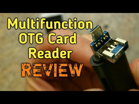 Review of the Vogek Multifunction OTG Card Reader