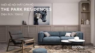 Mẫu thiết kế nội thất căn hộ The Park Residences 106m2 - Nhà Bè