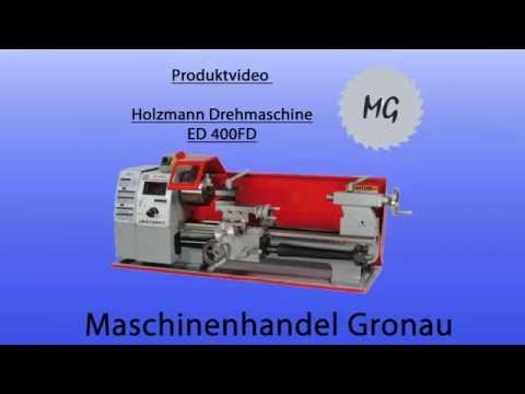 Holzmann Drehmaschine für Modellbauer - ED400FD