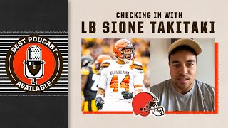 Checking in with LB Sione Takitaki | Best Podcast Available