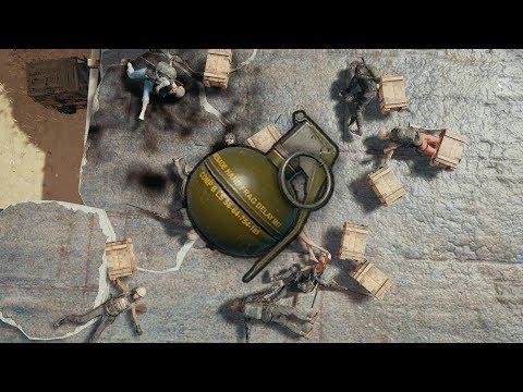 一顆手榴彈 一次十殺