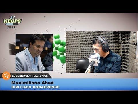 """Desde Cambiemos, el diputado Abad pronosticó """"rotundo triunfo"""" de Vidal en Provincia"""