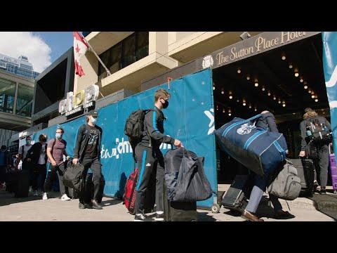 Inside the Bubble: Western Conference teams arrive in Edmonton