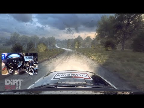 HARDEST Rally Game Gets HARDER... Dirt Rally 2.0 Adds Germany vs Thrustmaster RIG!