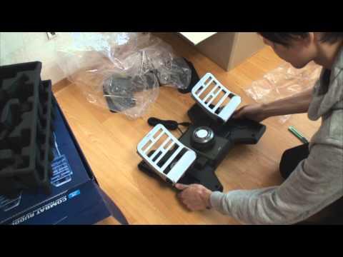 Видео № 0 из игры Saitek Pro Flight Combat Rudder Pedals педали управления