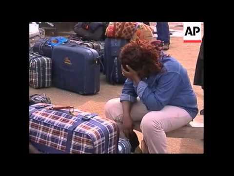 NIGERIA: IMMIGRANTS RETURN FROM LIBYA