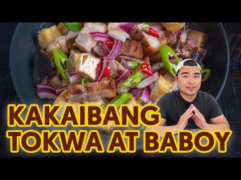 Kakaibang Tokwa't Baboy