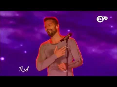 Ricky Martin ~ Y Todo Queda En Nada ~ Fuego De Noche, Nieve De Dia ~ Live 2014 in Santiago