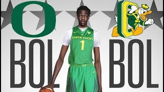 The REAL REASON Bol Bol committed to Oregon!!! Story about his father Manute Bol!
