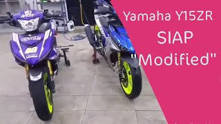 Fuhhh MERECIK abis! Yamaha Y15ZR siap Modified