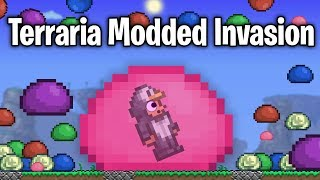 30x SPAWN RATE - TERRARIA MASS MODDED INVASION!!