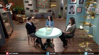 مناظرة بين مايكل الضبع وروزيت فريد عن الحب والعلاقات جزء 1 - برنامج ابرة وخيط  جديد