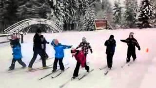 preview picture of video 'Sport+Spiel im Schnee - ein Ganztagsangebot der Grundschule Sayda'