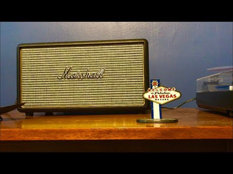 Marshall Stanmore Bluetooth speaker honest review & sound test with turntable Alexa and iPhone 2018