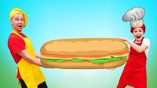 Мстители и Кулинарный battle - Бутерброды vs фруктовый салат? Я готовлю лучше!