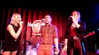 Daniel, Natasha & Nicola Bedingfield- Honest Questions- Hard Rock Hollywood 3/6/12