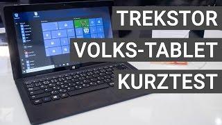 TrekStor SurfTab twin 11.6 Volks-Tablet: Mein erster Eindruck | Deutsch