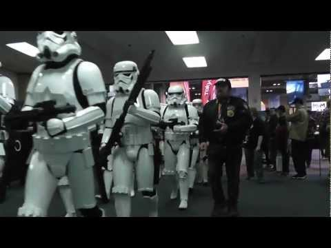 UK Garrison Parade at MCM Comic Con 2013
