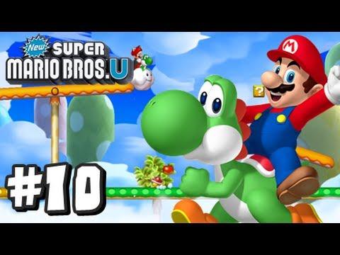New Super Mario Bros U Walkthrough Part 9 World 6 Tower 6 7