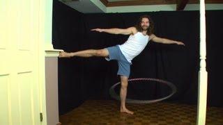Beginner Hula Hoop Tricks Vol. 3: One Leg Hooping