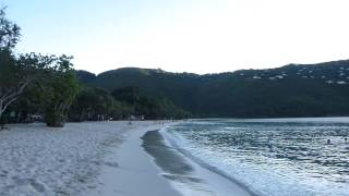 preview picture of video 'Magen's Bay Beach St. Thomas USVI Sunset'
