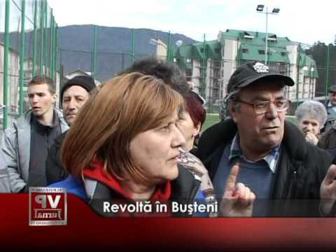 Revoltă în Buşteni
