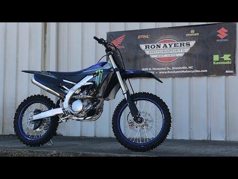 2021 Yamaha YZ250F Monster Energy Yamaha Racing Edition in Greenville, North Carolina - Video 1