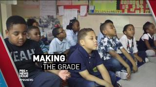Faced with outsized stresses, these Baltimore students learn to take a deep breath