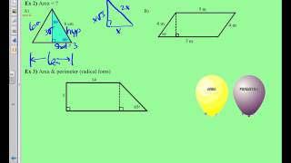 8-2 Special Right Triangles