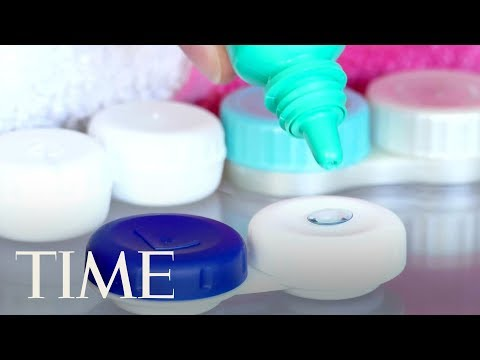 Doctors Find 27 Contact Lenses 'Bound Together By Mucus' In A Patient's Eye During Surgery | TIME