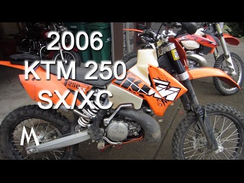 KTM 250sx/xc Motocross to Enduro