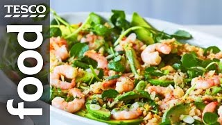 How to make prawn and avocado salad