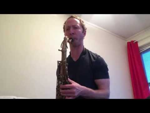 Example of exercise I use with advanced jazz students, where one can practice improvising over tunes in varied keys and tempos.