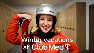 This is how you ski with Club Med