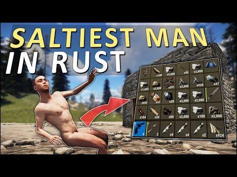 COUNTER-RAIDING the SALTIEST MAN in RUST! - Rust Solo Survival #3