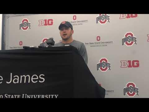 Ohio State football's Chris Chugunov talks playing in his hometown against Rutgers