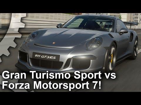 Tech Analysis: Gran Turismo Sport vs Forza Motorsport 7