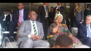 President Ramaphosa Attends National Prayer Day At FNB Stadium
