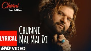 gratis download video - CHUNNI MAL MAL DI | BALLE BALLE | CHORNI | LYRICAL VIDEO | HANS RAJ HANS