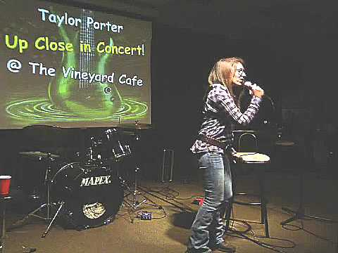 Taylor Porter - Love Letters @ The Vineyard Cafe