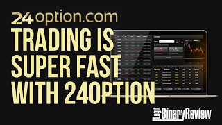 Trading is Super Fast With 24Option