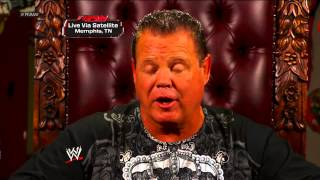 """Michael Cole interviews Jerry """"The King"""" Lawler: Raw, Sept. 24, 2012"""