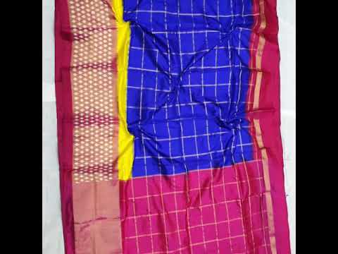 Pochampally Ikkat Silk Lehenga Blouse