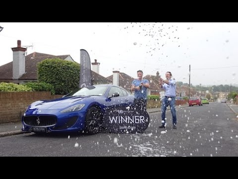 Winner! September 1st-15th 2014 - Maserati Granturismo S