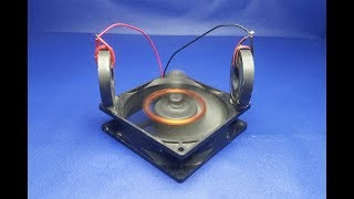 Fan with Magnet 100% Free Energy Generator  ,  Project 2018 new ideas