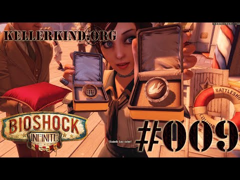 Bioshock Infinite [HD|60FPS] #009 - Battleship Bay ★ Let's Play Bioshock Infinite